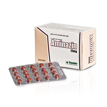 AMINAZIN 25 mg (film-coated tablet)